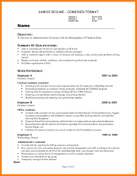 6 Unit Secretary Resume Mla Cover Page