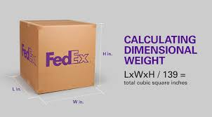 Use Dim Weight To Your Advantage Fedex Small Business Center