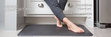 Cushioned Floor Mats For Kitchen Kitchen Floor Mats For Comfort The Ultimate Anti Fatigue Floor