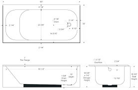 how wide is a standard bathtub standard tub shower dimensions tub sizes standard ca shower standard pin standard bathtub dimensions standard size how wide