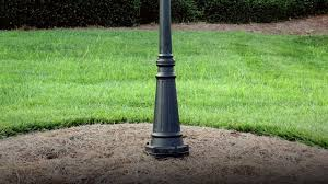 How to wire outdoor lamp posts