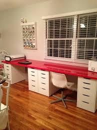 stunning ikea alex desk hack ikea kallax unit desk hack with alex drawers google search