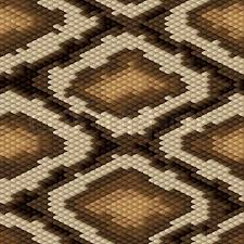 Snake Skin Pattern Custom Seamless Python Snake Skin Pattern Vector Illustration Stock
