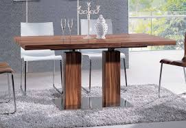 impressive excellent dining room charming modern decoration with in pertaining to contemporary pedestal dining table ordinary