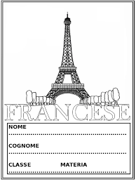 Copertine Da Colorare Per Quaderni Di Francese Mamma E Casalinga