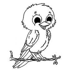 A bird coloring book you can print out and color in. Birds Free Printable Coloring Pages For Kids
