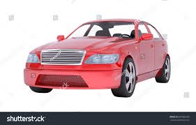 car white background front.  Car Image Of Red Car On Isolated White Background Front View Inside Car White Background Front K
