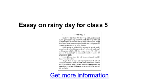 essay on rainy day for class whatsapp status essay