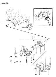 1990 chrysler lebaron sedan oil pump oil filter diagram 000005kp