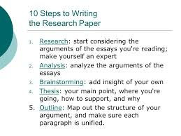 10 Steps To Writing An Essay 10 Steps To Writing An Essay Ppt Download