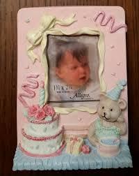 Vintage 1st Birthday Picture Frame Baby Girl Baby Boy Etsy
