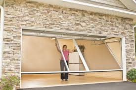roll up garage door screenGarage Doors  Screen Door Closures For Garage Openings Ft X