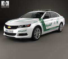 Chevrolet Impala Police Dubai 2014 3D model - Hum3D