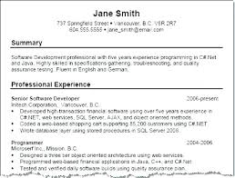Example Of Perfect Resume Beauteous Resume Good Examples College Resume Objective Objectives For Samples