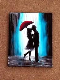 easy canvas art paintings on painting ideas for beginners best