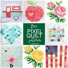 Free Designs For Quilts Free Pixel Quilt Tutorials U Create