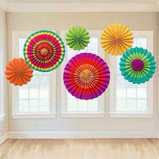 tissue paper fans party wedding birthday hanging fiesta paper fan decorations sep16 levert dropship