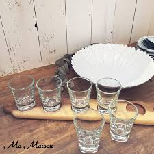 wooden shot glass tray a long shot tray