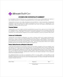 10+ Medical Confidentiality Agreement Templates – Free Sample ...