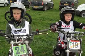 Young Shepley motorbike stars Charlie and Harvey Mosley hunting ...