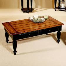elegant two tone coffee table with progressive furniture country vista lift top two tone table with