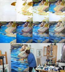artist elizabeth tyler step by step painting rocks
