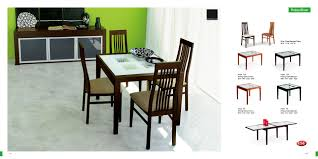 Modern Furniture Dining - Modern wood dining room sets
