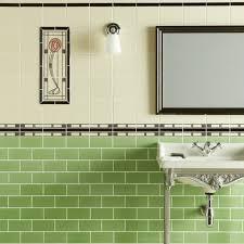various green bathroom traditional classic tile ideas