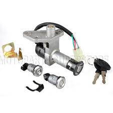 roketa parts accessories ignition key switch set 4 wire 150cc gy6 moped scooter taotao roketa motorcycle
