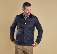 Barbour Mens Holme Quilted Jacket &  Adamdwight.com