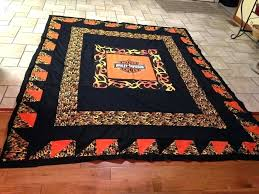 harley davidson rugs quilt from sheets from