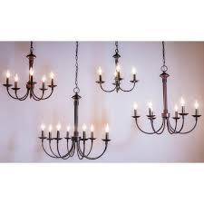 shaylee 6 light candle style chandelier