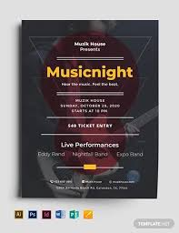 Apple Flyer Templates 25 Music Flyer Templates Ms Word Publisher Apple Pages Psd