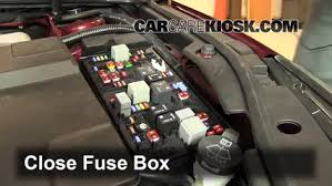 replace a fuse 2010 2016 buick lacrosse 2011 buick lacrosse cx 2005 buick lacrosse fuse box location 6 replace cover secure the cover and test component