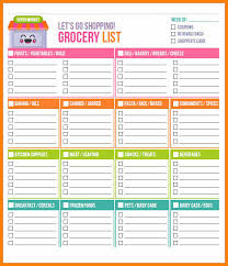 grocery checklist template 5 grocery shopping checklist template plastic mouldings