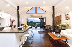 Contemporary australian house interior design in white probably ...