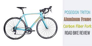 poseidon triton lightweight aluminum frame carbon fiber fork road bike review