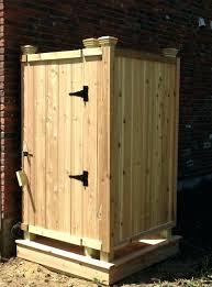 shower outdoor shower kit cape cod cedar showers enclosures medium size of portable enclosure modest