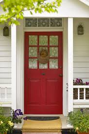 Small Picture Home Entrance Wall Design Imanada Lovely Red House Door With
