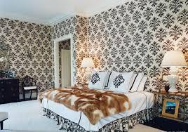 Stylish Bedroom With Animal Print