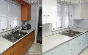 Diy Kitchen Cabinets Refacing Interior Modern Kitchen Cabinet Refacing Before Plus After Home