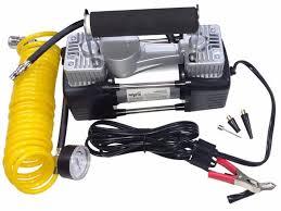compresor de aire. compresor de aire inflador doble piston 12 v- alta calidad