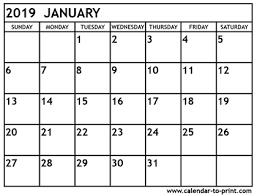 free printable 2019 monthly calendar 2019 calendars free printable 2019 monthly calendars
