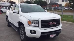 summit white 2018 gmc canyon 4wd crew cab 128 3 all terrain w cloth review 180299