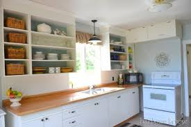 Best Kitchen Remodel Ideas    Kitchen Update On A $100 Budget With Open  Cabinets,