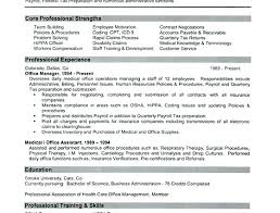 Sample Resume For Medical Office Manager Sample Resume For Office Manager Bitacorita