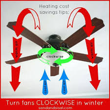 ceiling fan rotation for winter which direction to turn fans in winter other easy effective tips ceiling fan rotation for winter