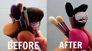 how to clean makeup brushes beauty blenders easy diys immy