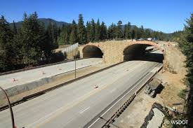 Bridging An Interstate In Washington State Conservation