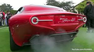 alfa romeo 8c disco volante. Simple Volante Alfa Romeo Disco Volante Touring Superleggera  Start Up  Sound YouTube And 8c